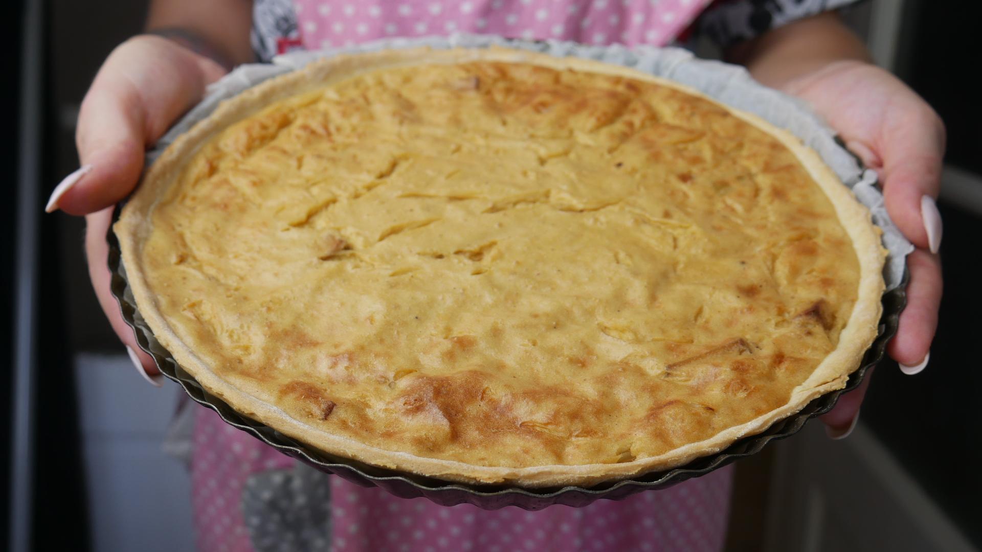 No Egg Cake Aux Olives